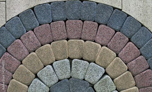 pattern on the pavement - 50996102