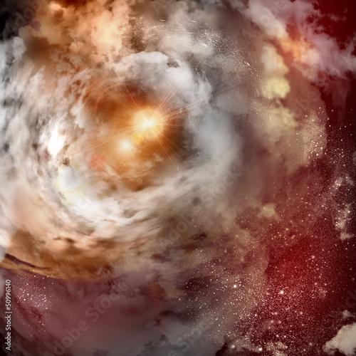 Kosmiczne obłoki mgły
