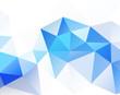 Light blue sky Geometric background vector eps