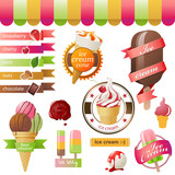 ice cream emblems