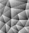 Grey pattern wallpaper Geometric background