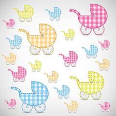 Kinderwägen Muster