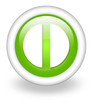 "Light Green Icon ""Exit Symbol"""