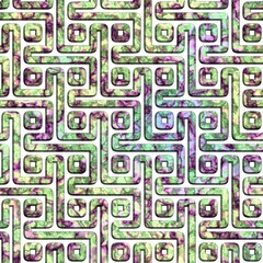 Labyrinth. Seamless background.