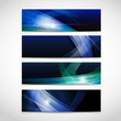 Vector Abstract Header Background.