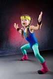 Fototapety Little Fitness Girl