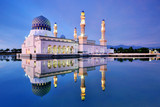Reflection of a Floating Mosque