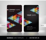 Fototapety Business Card Set. Vector illustration. EPS10