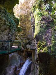 Orrido di Bellano, cascata nella gola