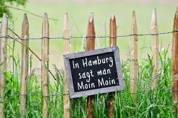In Hamburg sagt man Moin moin