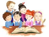 schoolchildren poster