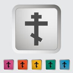 Cross  single icon.