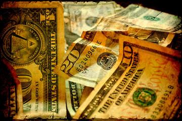 Retroplakat - Dollar III