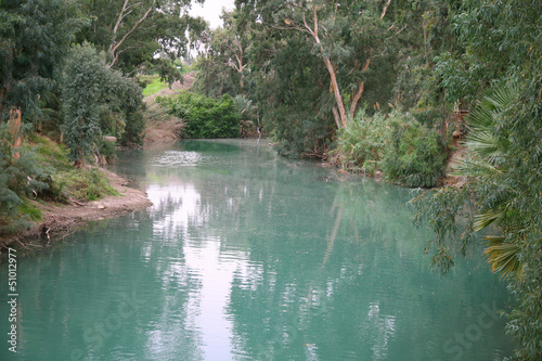 The Jordan River. Israel