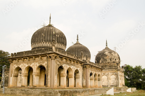 Qutub Shahi Tombs, Hyderabad Poster