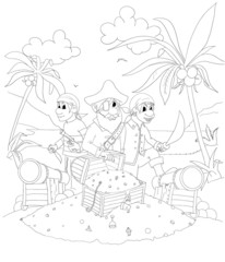 pirates 2- uncolored