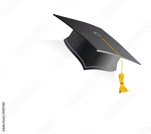 Education Cup on white background. Vector illustration