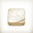Old paper app icon