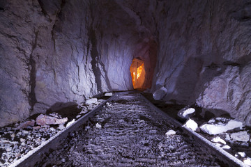 Inside Gold Mine