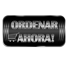 'Ordenar Ahora' - Order Now black web button in spanish