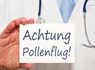 Achtung Pollenflug !