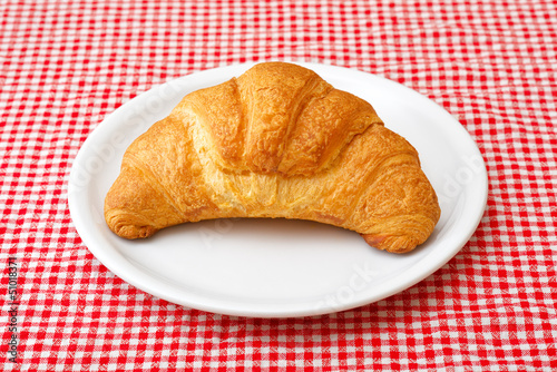 Corissant on white plate