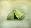 Tent, old-style