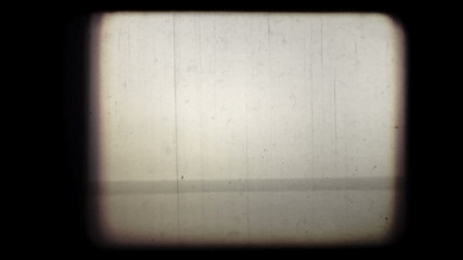 Old 8mm cinema screen. Abstract loopable (vj) clip, HD.