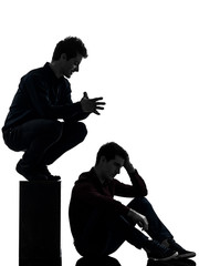 two  men twin brother friends domination schyzophrenia concept s