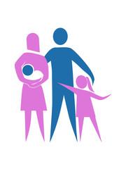 Anne baba ve çocuklar