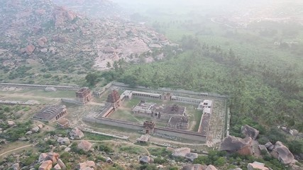 Hampi. Hill top in India.