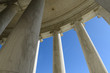 Pillars with Blue Sky