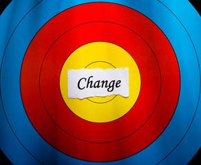Target on change concept