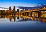 Fototapety The Portland Skyline at Night