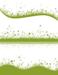 Wiese grün Set