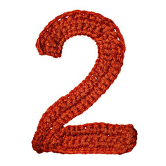 digit of knit alphabet