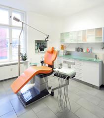 Zahnarztstuhl Zahnarztpraxis