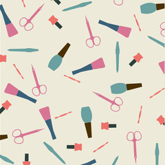 Vector manicure background