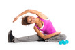 Healthy Woman Exercising