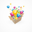 carton ballons