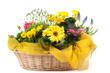 cestino fiorito