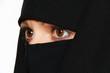 Постер, плакат: Symbolfoto Islam Verschleierte Frau