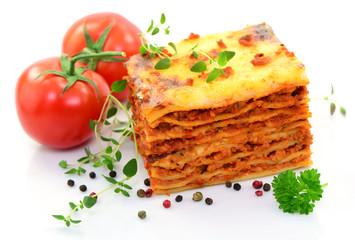 Lasagne, Gewürze