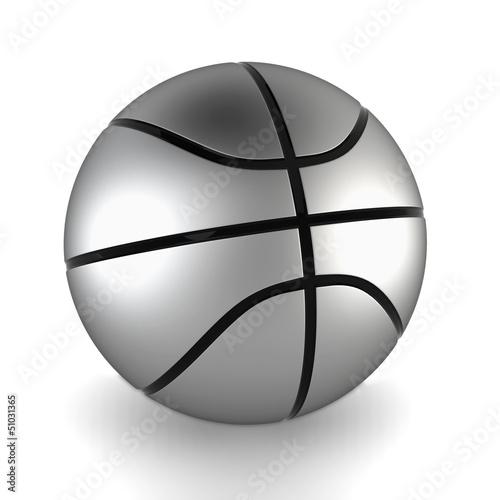 Plexiglas Sportwinkel Basketball ball