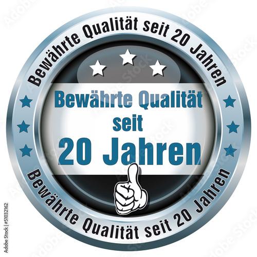 Button - Bewährte Qualität seit 20 Jahren