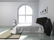 canvas print picture - Wohndesign - Schlafzimmer modern