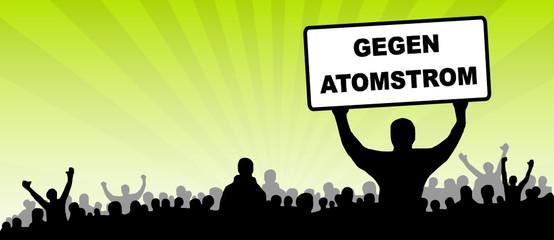 Protest gegen Atomstrom