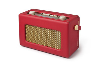 Radio, Wireless, Red