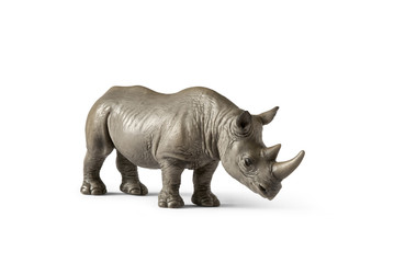 Rhino, Rhinoceros, Toy