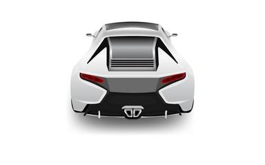 Auto Sportiva metallizzata